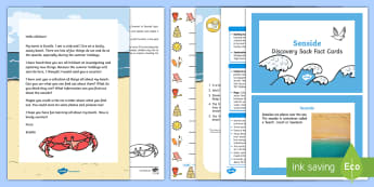 Editable Scuttle the Crab Seaside Letter and Resource Pack - Summer, beach, topic, hook, Wow, theme, sunshine, sun
