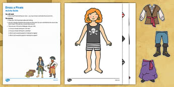 Dress a Pirate Busy Bag Resource Pack for Parents