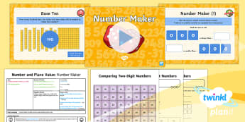 PlanIt Y3 Number and Place Value Lesson Pack Compare and Order Numbers (1) - compare, three digits, greater than, smaller than, larger than, less than, comparison symbols 3d, 2d