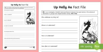 Up Helly Aa Fact File - CfE, calendar events, Scotland, Scottish, traditions, history, celebrations, Shetland, Lerwick,, Vik - CfE, calendar events, Scotland, Scottish, traditions, history, celebrations, Shetland, Lerwick,, Vik
