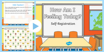 How Am I Feeling? Self-Registration PowerPoint - Australia, EYLF, classroom management, daily routine, self registration, powerpoint, attendance, fee
