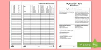 Grandparents Assessment Tracker - ACHASSK028, past, present, grandparents, compare, contrast, Australia