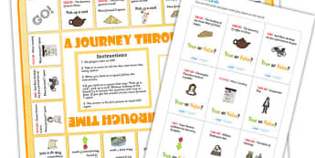 Timeline Board Game - history board game, history game, timeline game, history timeline game, history ks2, fun history game, events in history, ks2 game