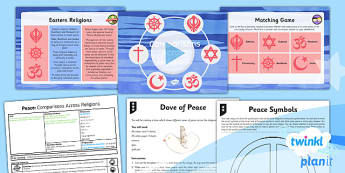 RE: Peace: Comparisons Across Religions Year 5 Lesson Pack 3