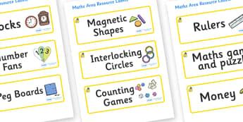 Marula Themed Editable Maths Area Resource Labels - Themed maths resource labels, maths area resources, Label template, Resource Label, Name Labels, Editable Labels, Drawer Labels, KS1 Labels, Foundation Labels, Foundation Stage Labels, Teaching Labe
