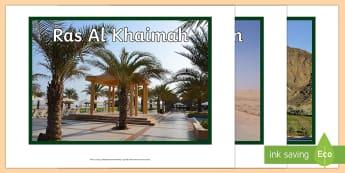Seven Emirates Display Photos UAE, ADEC, MOE, emirates, information, display, posters, pictures, photos, states, Abu Dhabi, Dubai,