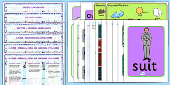 Clothes Lesson Plan and Enhancement Ideas EYFS - clothes, eyfs, lesson plan, idea