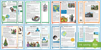 KS1 Non Chronological Report Examples Resource Pack - non-chron, reports, wagoll, example, model, moderation, grammar, genre, purpose, audience, Y2, Y1, y