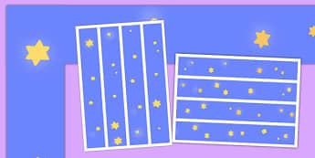 Personal Learning We're Reaching for the Stars Borders - personal learning, we're reaching, stars, border