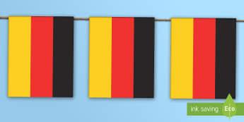 Germany Flag Bunting -