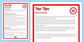 How to Say No - how to, say no, say, no, work, work load, teachers