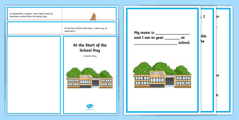 At the Start of the School Day Social Stories  - social story, beginning of school day, registration, secondary school, morning