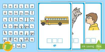 Encontrar las letras: La B Phoneme Cards - lecto, leer, lectura, sonidos, letra , lecto-escritura, fonemas, sonidos, consonantes, letra b, fone
