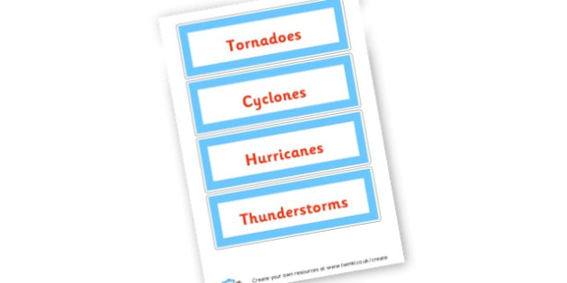 Weather Desktop lLabels - Weather and Seasons Group Signs Primary Resources,  Group Signs