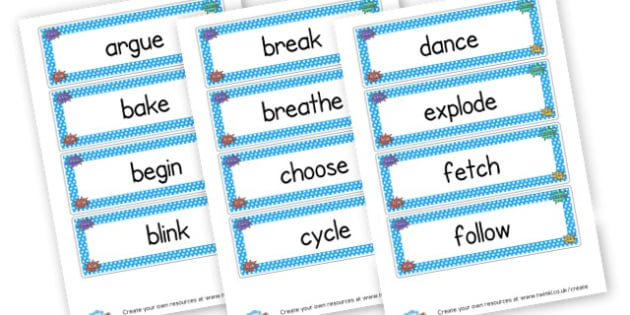 Superhero Verbs Cards - Superheroes, Literacy,  Primary Resources, superhero, role play,