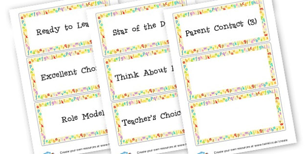 Class Behaviour Chart - Rules & Behaviour Primary Resources, golden time, routines, reward