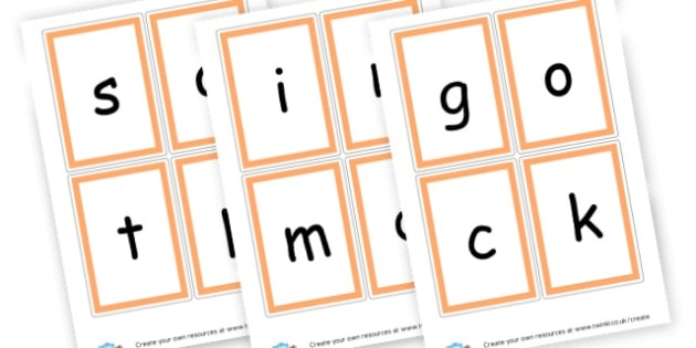 Phase 2 Cards - Letters and Sounds Phase 2 Primary Resources, Phase Two, phonics