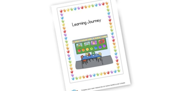 Learning Journey Cover - KS1 & EYFS Learning Journey Resources - Learning Journey, EYFS