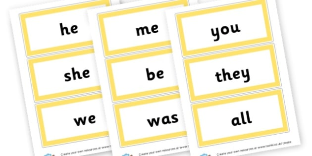 Tricky Words Phase 3 - Phase 3 Visual Aids Primary Resources, Phase One, Letters, sounds