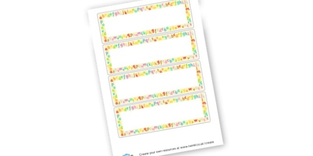 Blank Literacy Word Cards - General Literacy Primary Resources, Literacy, English, Display, EY