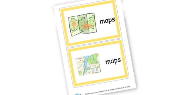 Map Labels - Maps Primary Resources, points, map, travel, ordinance survey
