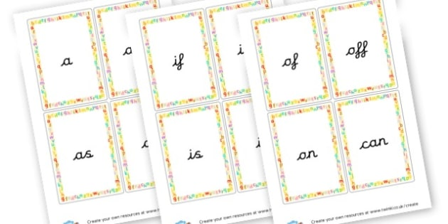 Phase 2 High Frequency Words - Phase 2 Visual Aids Primary Resources, Phase One, Letters, sounds