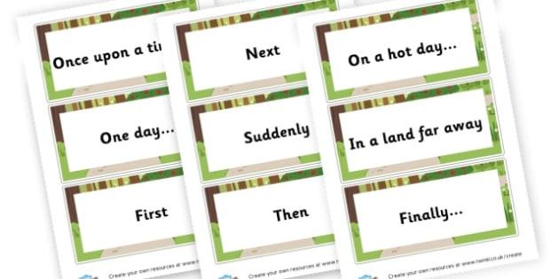 Story Vocab Cards - KS2 Story Writing Aids, Story Writing, Literacy, KS2 English