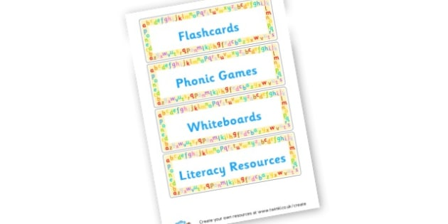Box Labels - Classroom Signs & Label Primary Resources, labels, posters, rules