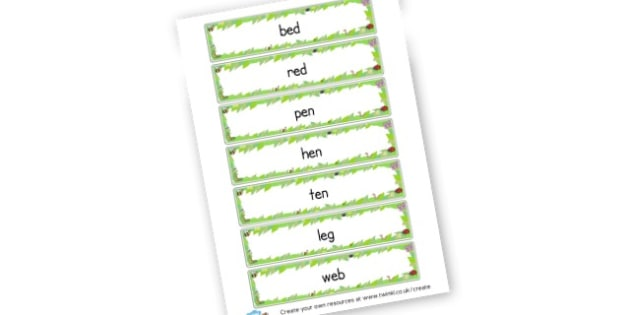 CVC E Word Cards - CVC Words Primary Resources, CVC, consonant, vowel, CVC word