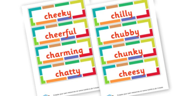 Ch Adjectives - Adjectives Primary Resources, cll, wow, keywords, describing words