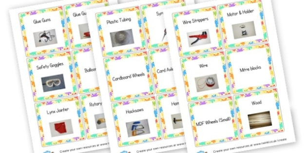 Design & Technology Labels - Design & Technology Primary Resources - Art, design, create, craft
