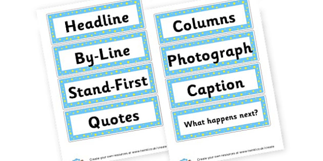 Newspaper Template Primary Resources Ks2 Vikings Writing Frames And