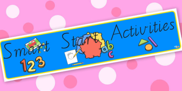 Smart Start - display lettering - Classroom Signs & Label Primary Resources, labels, posters, rules