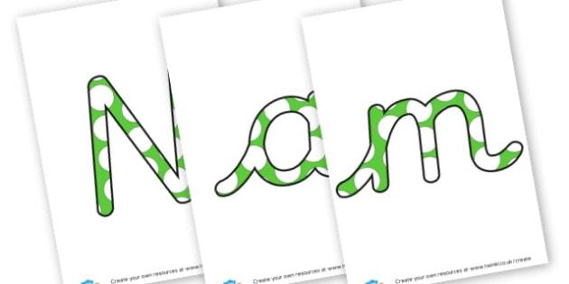 Name the Monster Display - Monsters Display Primary Resources,  Monsters, Display, Posters