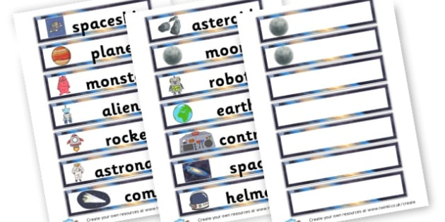 Space Story - Space Literacy Primary Resources, Space, planets, Sun, moon, star