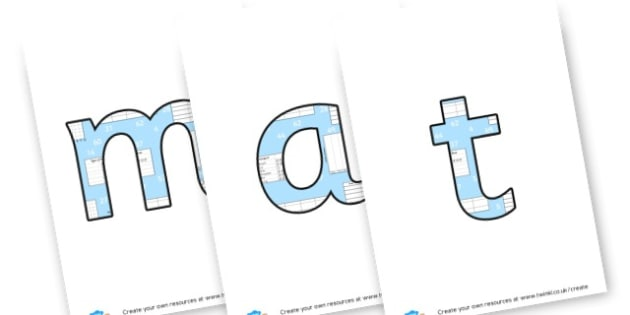 Maths - Display Lettering