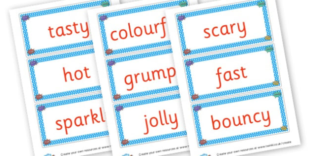 Superhero WOW Words Flash Cards - Wow Words & Adjectives Primary Resources, cll, wow, keywords