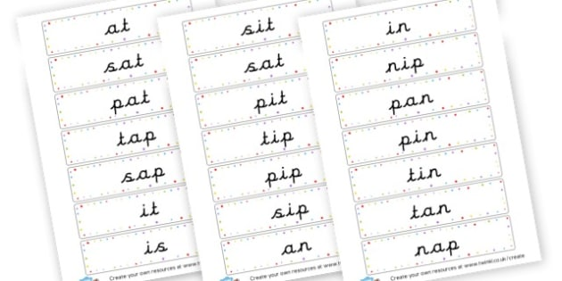 Phase 2 words - Phase 2 Visual Aids Primary Resources, Phase One, Letters, sounds
