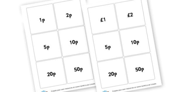 Money - Money & Coins Primary Resources, maths, currency, pounds, euro