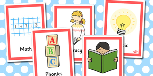 Year 1 Area Labels - Classroom Signs & Label Primary Resources, labels, posters, rules