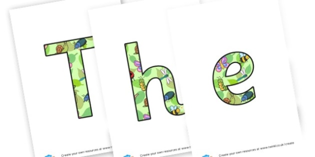 Display Lettering to Support Teaching on The Very Hungry Caterpillar - The Very Hungry Caterpillar Primary Resources, Story,Caterpillar, hungary caterpillar