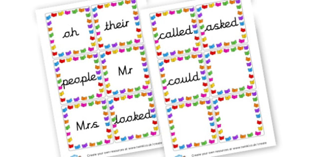 Phase 5 Tricky Words Cards - Phase 5 Visual aids Primary Resources, Phase One, Letters, sounds