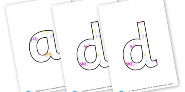 Addition Lettering - Maths Area Primary Resources, maths is fun, signs, labels, areas