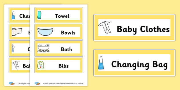 Baby Things - Baby Clinic Role Play Primary Resources, vaccinations, nurse