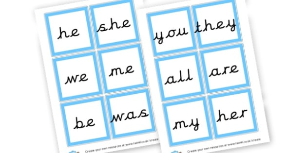 Phase 3 Tricky Words Cards - Phase 3 Visual Aids Primary Resources, Phase One, Letters, sounds