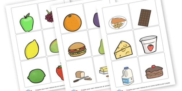 Food Themed Picture Cards - Food Group Signs Primary Resources,  Group Signs, Classroom, Food