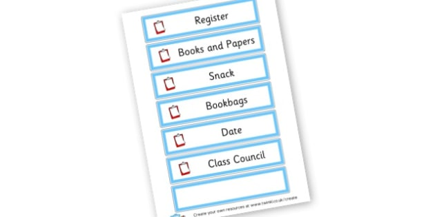 Monitor List - Classroom Signs & Label Primary Resources, labels, posters, rules