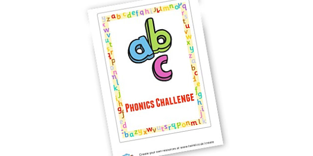 Phonics challenge - EAL Phonics Games Primary Resources - phonics
