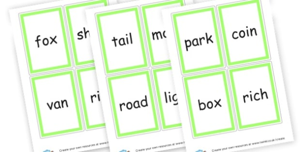 Phase 3 Phonic Cards - Phase 3 Visual Aids Primary Resources, Phase One, Letters, sounds