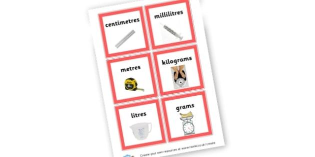 Measure - Shapes, Spaces & Measures Primary Resources, maths, 3D, 2D, shapes